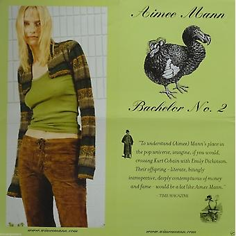 Aimee Mann 2 Sided Bachelor No 2 Promotional Poster