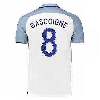 2016-17 England Home Shirt (Gascoigne 8) - Kids