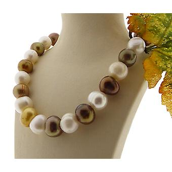 Christian colored Pearl Necklace