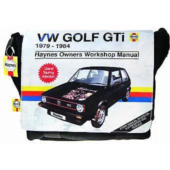 Haynes oficial VW Golf GTI Mk 1 mochila saco de ombro