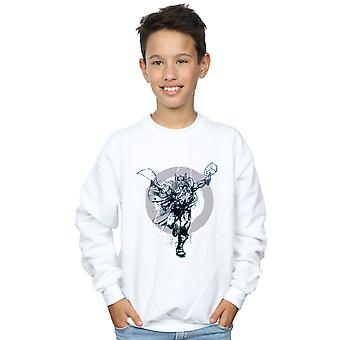 Marvel Boys Thor Circle Sweatshirt