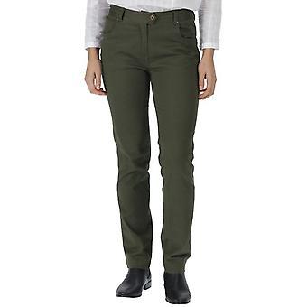 Regatta kvinners/damer Damira bomull komfort passe gangavstand bukser