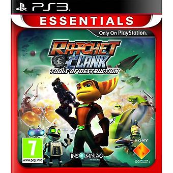 Ratchet  Clank Tools of Destruction PlayStation 3 Essentials (PS3) - Factory Sealed