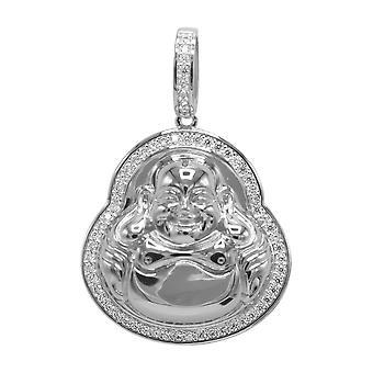 925 sterling hopea micro pave kaulakoru - mini BUDDHA