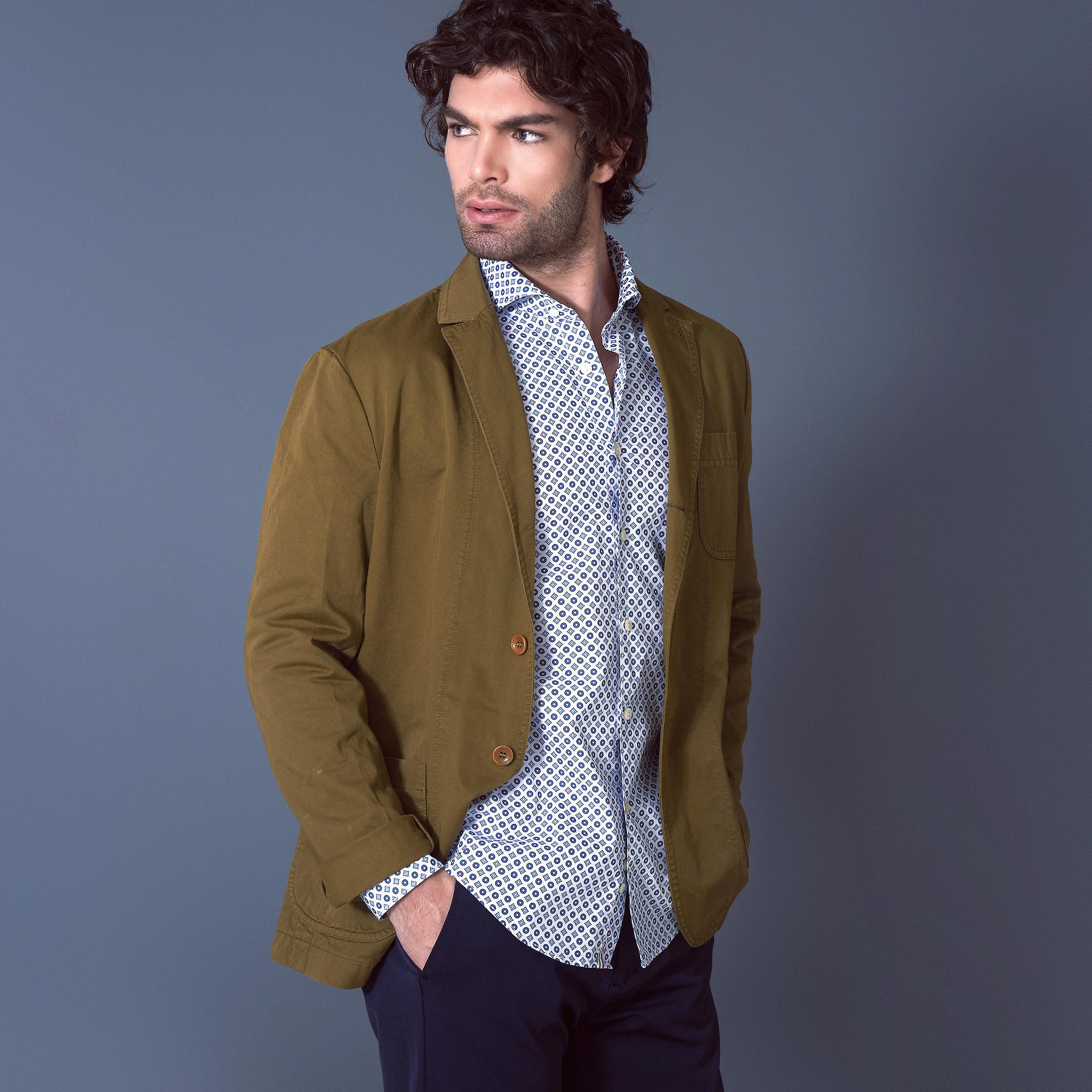 Fabio Giovanni Lizzano Shirt - Mens Italian Casual Stylish Shirt - Long Sleeve