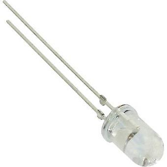 Vishay TLHB5102 LED wired blå cirkulære 5 mm 245 mcd 18 ° 20 mA 3.9 V