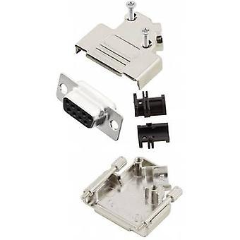 Receptáculo de MHD45ZK9-DM9S-K conectores D-SUB de MH set 45 ° número de pernos: 9 soldadura cubo 1 PC