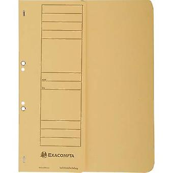 Exacompta 351604B Transfer pocket file Yellow A4