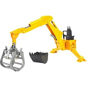Brother rear excavator with gripper