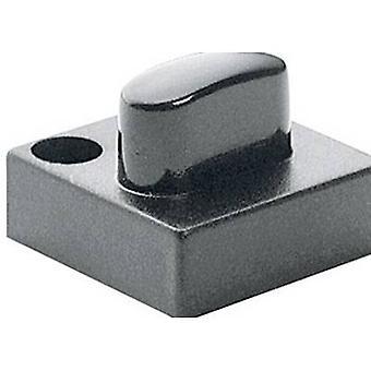 Marquardt 827.020.031 Sensor Cap drukknop cap met ovale stelaandrijving, divisie 16 mm grijs compatibel met (details) serie 6425 met LED
