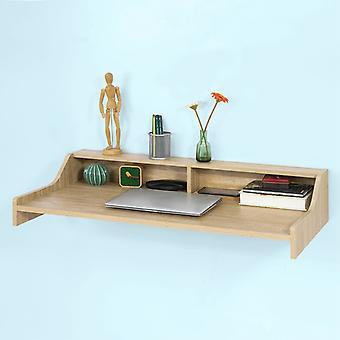 SoBuy bois mur repas ordinateur Table noyer couleur, FWT47-N