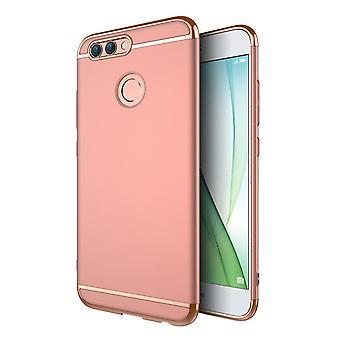 Mobiele telefoon dekking geval voor Huawei Nova 2 plus bumper 3 in 1 dekken rose goud