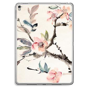 iPad Pro 9,7 pollici custodia trasparente (Soft) - fiori di Japenese