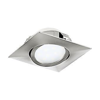 Eglo Recessed LED Spot 84x84 Satin Nickel Pi