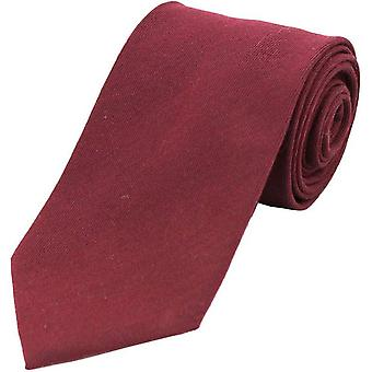 David Van Hagen almindelig uld rige slips - Bourgogne