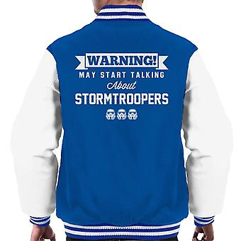 Original Stormtrooper Warning May Start Talking About Men's Varsity Jacket