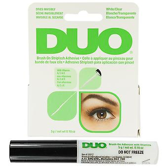 Ardell Duo Brush on Lash adeziv alb/Clear