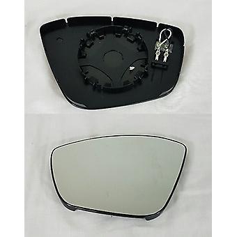 Vänster spegelglas (Uppvärmd blind fläck varning) För Peugeot 308 SW mk2 2014-2018