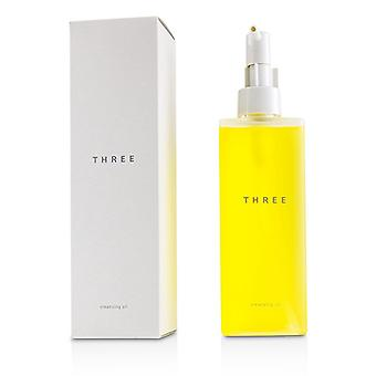 Three Cleansing Oil - 98% Naturally Derived Ingredients - 185ml/6.2oz