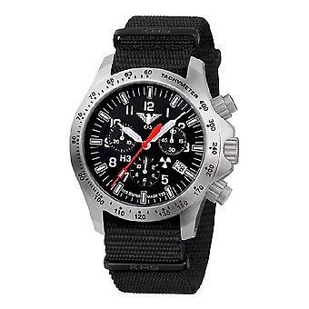 KHS ure Herre watch platoon chronograph LDR KHS. PCLDR.NB