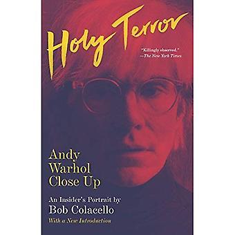 Holy Terror: Andy Warhol fermer vers le haut (Vintage)