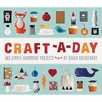 Craft-om-dagen: 365 enkla handgjorda projekt
