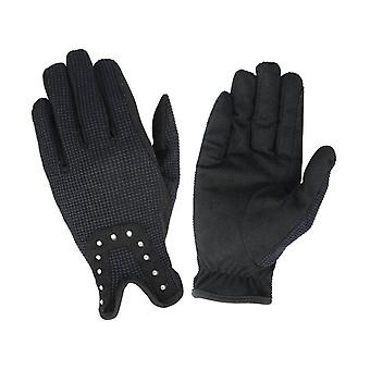 Hy5 Childrens/Kids Diamante Riding Gloves