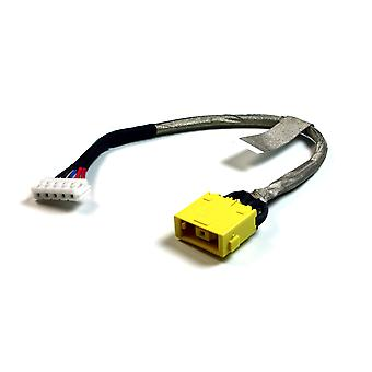 Lenovo Essential G710 Replacement Laptop DC Jack Socket With Cable