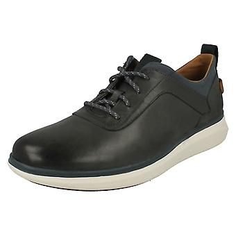 Mens Clarks Lace Up Casual Shoes Un Globe Vibe