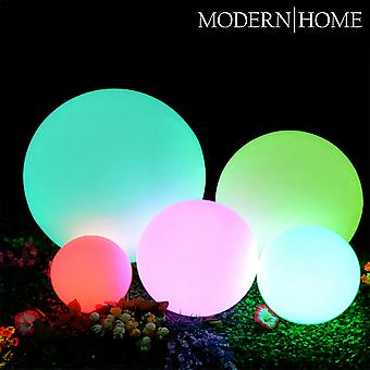 Modern Home LED Glowing Sphere w/Infrared Remote Control - Indoor/Outdoor Floating Light Ball