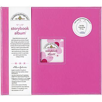Doodlebug Design Bubblegum 12x12 Palcový album rozprávkovej knihy