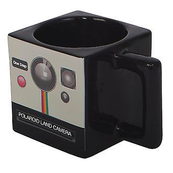 Polaroid Land Camera Square Mug
