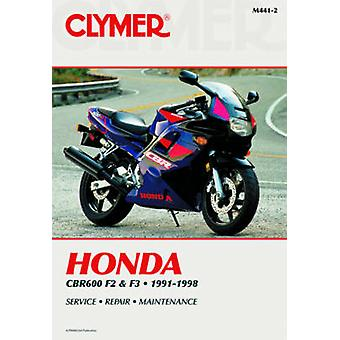 Honda CBR600FM-R (F3)1991-98 (2nd) by Penton - 9780892878161 Book