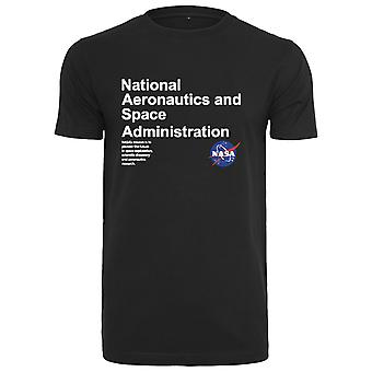 Mister Tea Shirt-NASA Definition Black