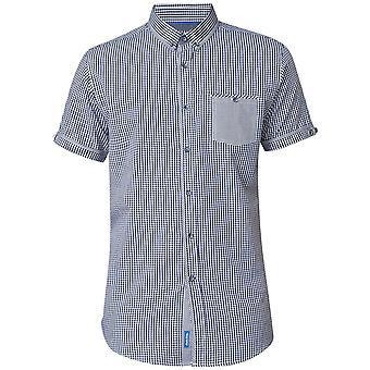 DUKE Duke Small Check Short Sleeve Shirt