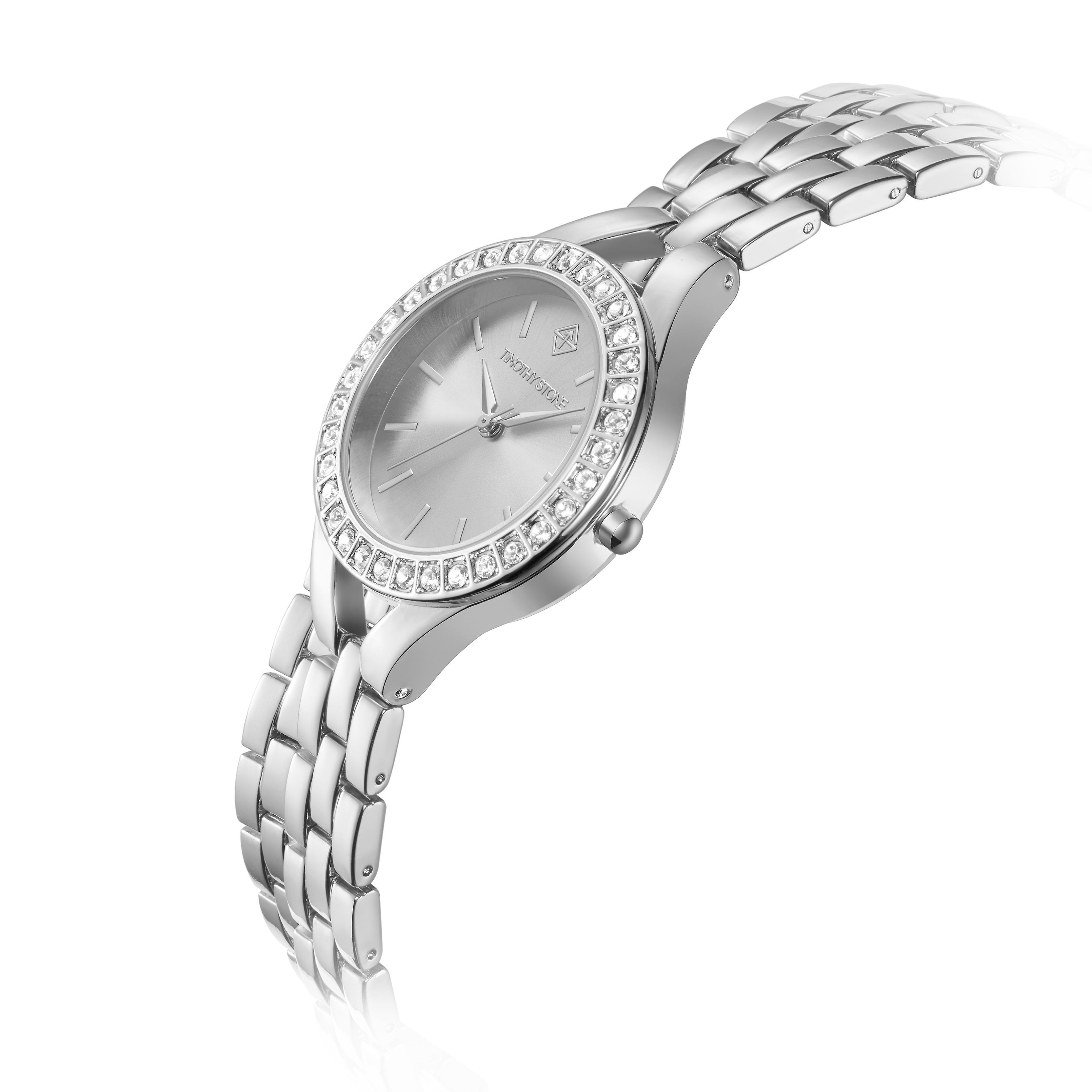 Timothy Stone Women�s JOLIET Silver Watch