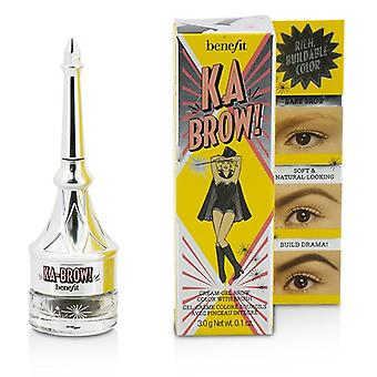 Benefit Ka Brow Cream Gel Brow Color With Brush - # 4 (medium) - 3g/0.1oz