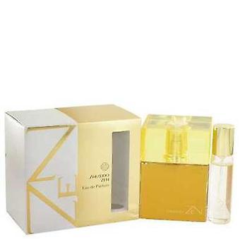 Zen by Shiseido Eau de Parfum Spray med,5 oz mini EDP Spray 3,4 oz (damer) V728-516005