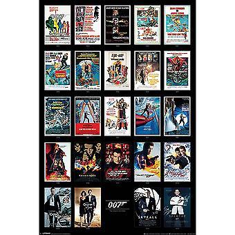 James Bond Movies Poster