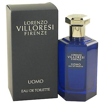 Lorenzo villoresi firenze uomo eau de toilette spray door lorenzo villoresi 532927 100 ml