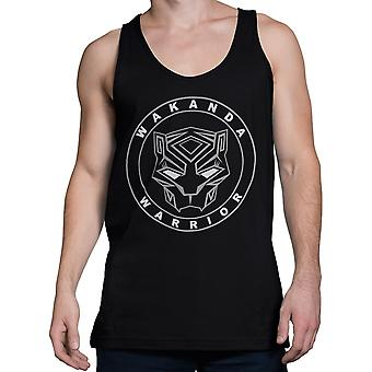 Black Panther Movie Wakanda Warrior Men's Tank Top