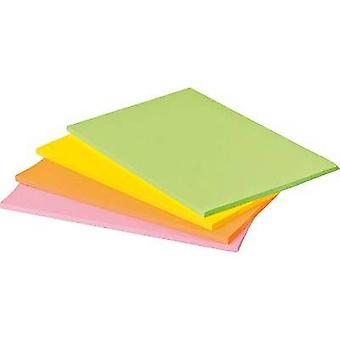 Post-it Sticky note 7100043258 203 mm x 152 mm Neon green, Neon orange, Ultra pink, Ultra yellow 180 sheet