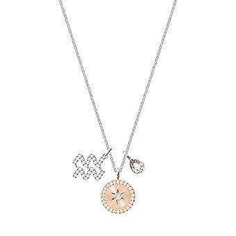 Collier pendentif pour femme plaqué argent - 5349213