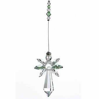 Peridot Gardien Angel Crystal Large