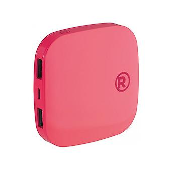 RadioShack Portable Power Bank 3000mah - Rosa