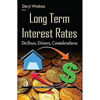 Langsigtede rentesatser (Business, teknologi og økonomi)