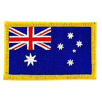 Patch Ecusson brode flag Australien australsk termo Collant Insignia Blason