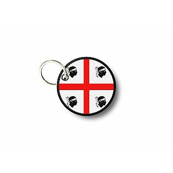 Cle Cles Key Brode Patch Ecusson Biker Flag Sardinia