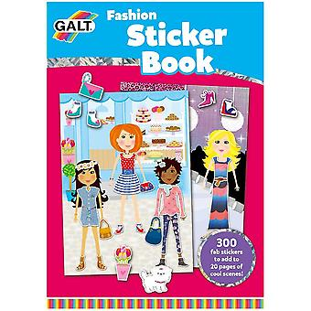 Galt Toys Fashion Sticker Book - 20 Pages - 300 Stickers