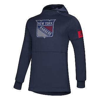 Adidas NHL New York Rangers spiller Pullover Hood